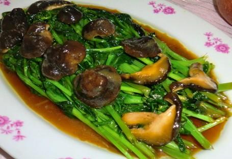 蚝油香菇油菜苔的做法,专家详解