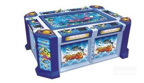 游戏厅捕鱼打鱼机赢钱技巧,原来是这样的