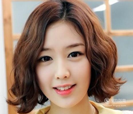 蛋卷头短发发型,潮流韩式发型,来学习吧