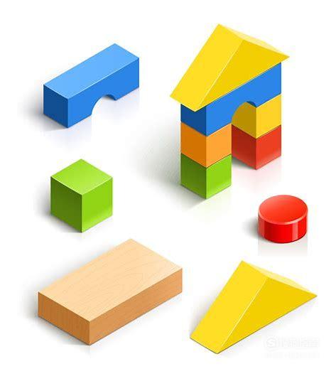 怎样教孩子利用几何形状积木搭建成各种造型。,大师来详解