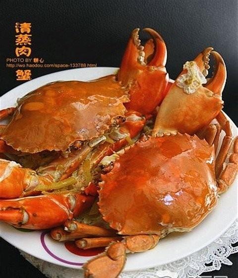 清蒸肉蟹怎么做,看完