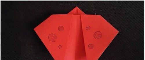 【折纸教程】怎样折一只七星瓢虫 详细始末