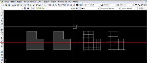 CAD图纸填充正方形图案的两种教程 懂得这些技巧就够了