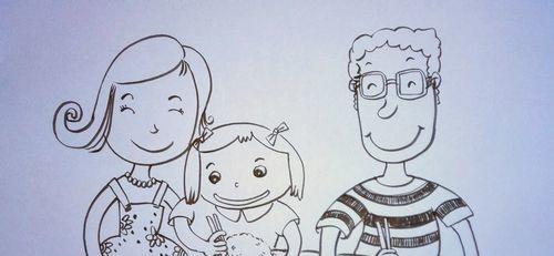 儿童趣味创意画:[16