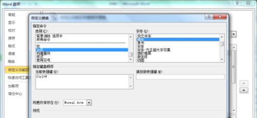 Word2010文档中设定自定义快捷键方法 原来是这样的
