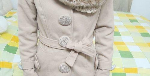冬天大衣腰带怎么系蝴