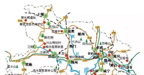 湖北省5A景区一览,这些经验不可多得