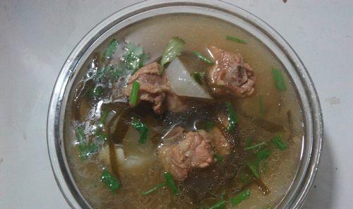 排骨海带萝卜汤的做法。 你需要学习了