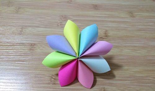 可爱漂亮小纸花折法 划重点了