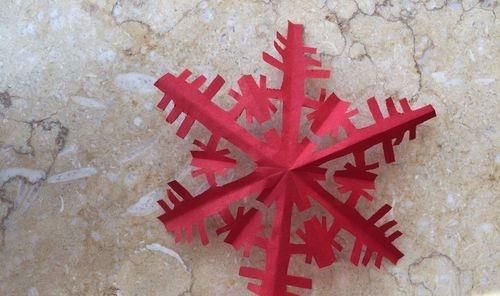 儿童手工剪纸雪花窗花的剪法,来学习吧