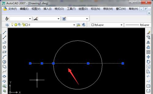CAD中如何让连续的线打断于某一点,专家详解