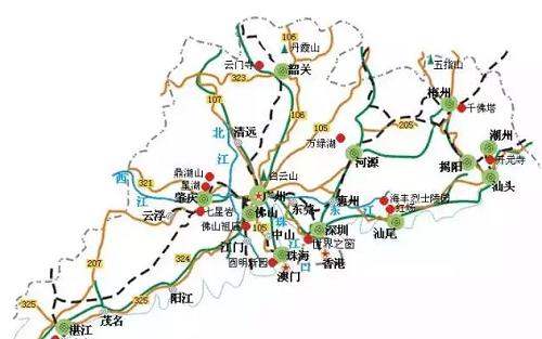 广东省5A景区一览 这几步你要了解