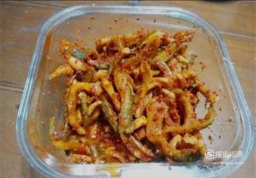 绿萝卜咸菜的腌制方法