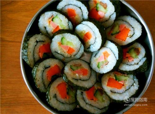 如何用米饭做寿司卷