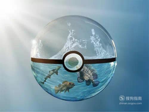 怎样用PS合成水晶球内的海洋世界 详细始末