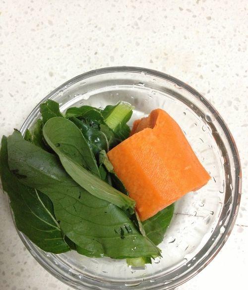婴儿辅食 胡萝卜青菜泥