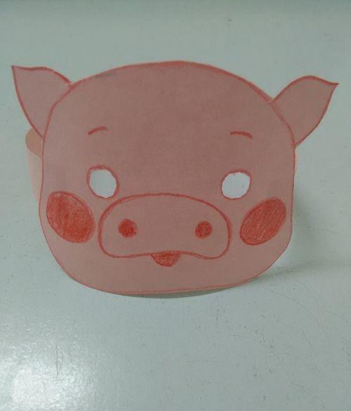 猪的面具怎么做 又快又好