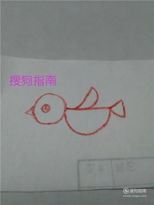 儿童简易画——可爱的小鸟,来研究下吧