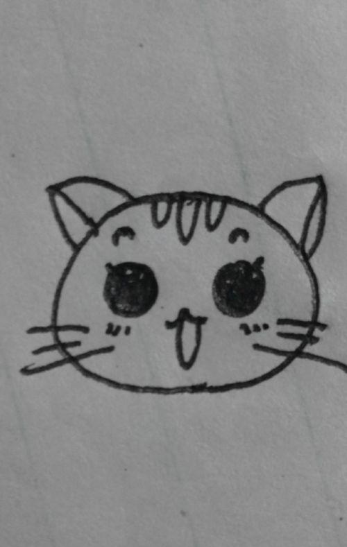 简笔画小猫咪 大师来详解