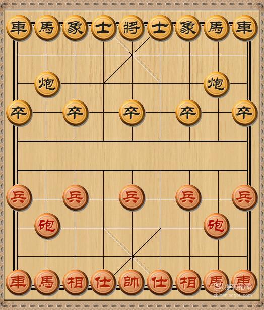 中国象棋的基本杀法——前呼后拥杀法 来研究下吧