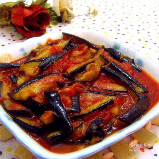 非常好吃的家常菜——西红柿炒茄子的做法,具体内容
