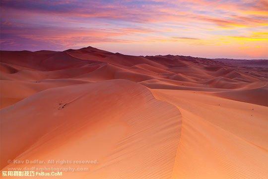 拍摄沙漠风光的6个小技