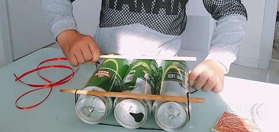 易拉罐手工制作帆船