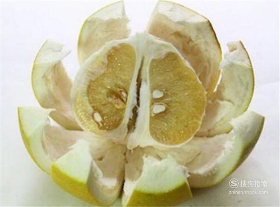怎么切柚子皮,看完你就知道了