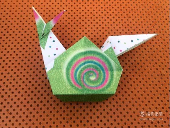 怎么用纸折蜗牛 大师来