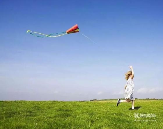 如何正确放风筝