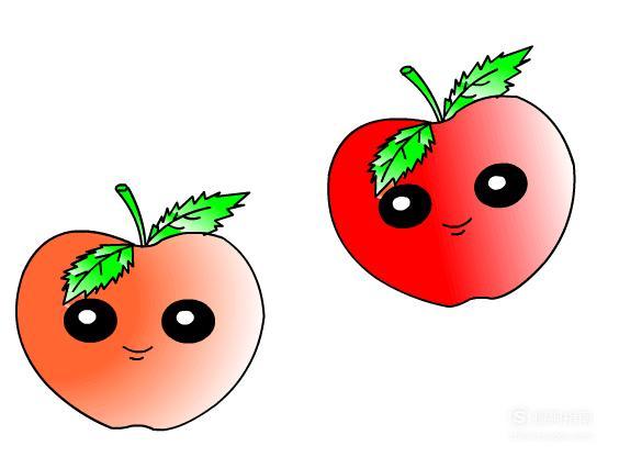 简笔画:如何使用Flash绘制出苹果,涨知识了