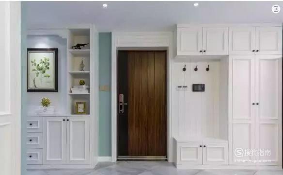鞋柜玄关装修效果图进门最佳示例