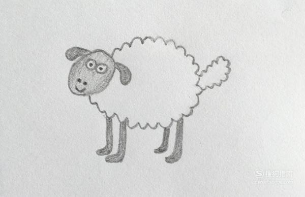 简笔画:怎么画《小羊