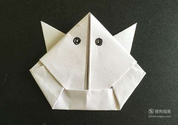 手工折纸:怎么折会跳