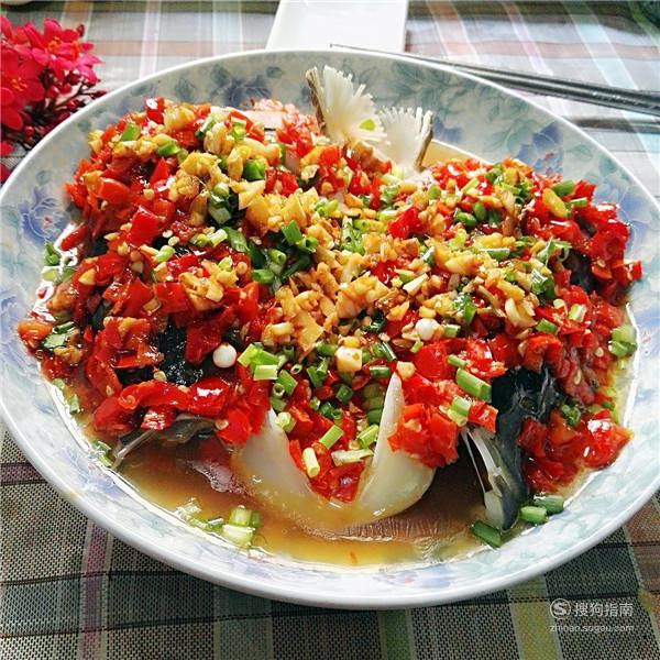 湖南名菜—剁椒鱼头的家常做法 来充电吧