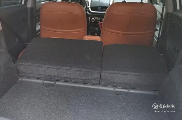 汽车后排座椅怎么放倒