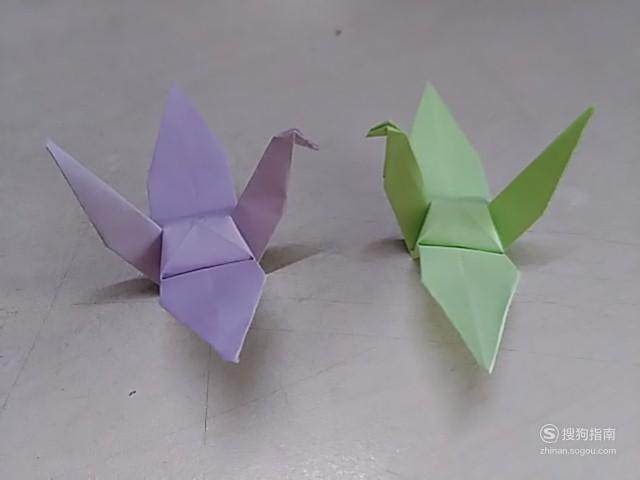 千纸鹤的折法 这些知识