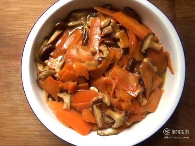 蚝油香菇胡萝卜的家常做法 懂得这些技巧就够了