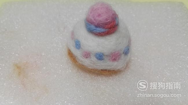 羊毛毡奶油蛋糕制作方法  你需要学习了