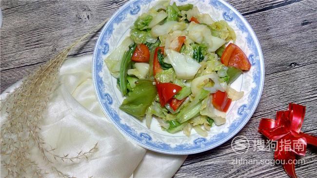 百味之本|辣椒炒圆白菜,需要技巧