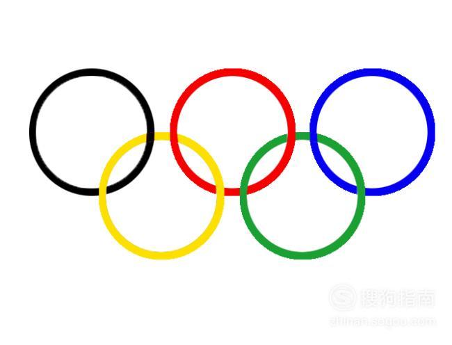 怎样用PS制作奥运五环 经验告诉你该这样