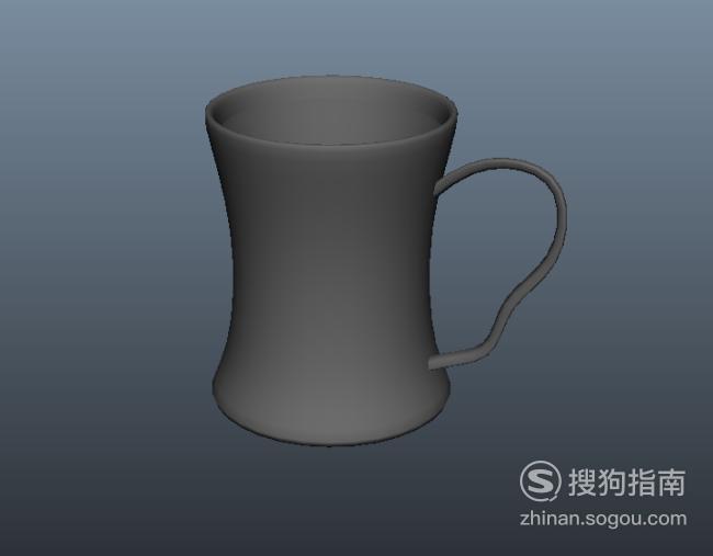 使用maya如何制作水杯模