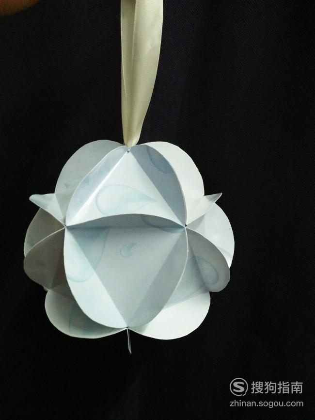立体折纸之纸折球,你值得一看的技巧