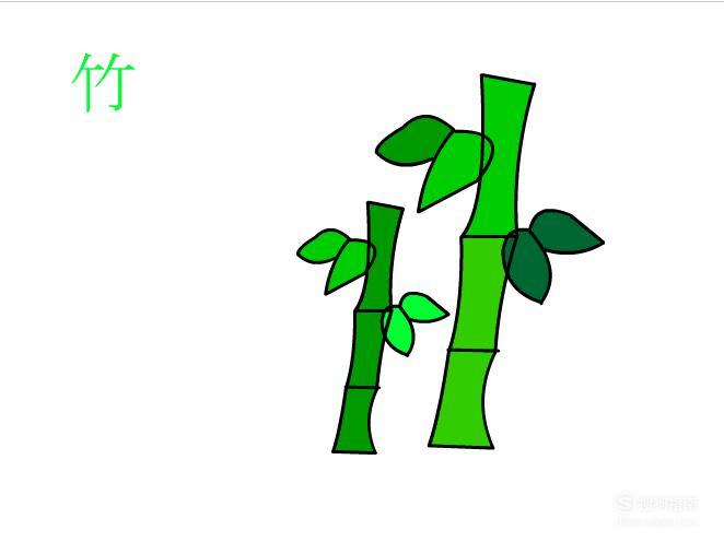 简笔画:如何使用Flash绘制出竹子 看完你学会了么