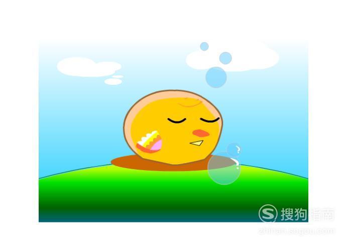Flash动画:睡觉的小鸡,值得一看