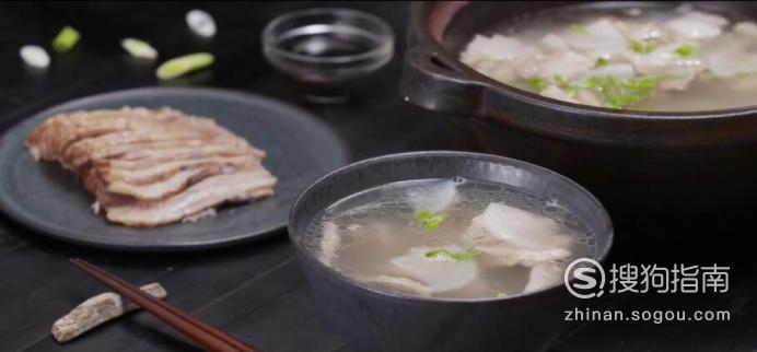白切羊肉汤怎么做?,又快又好