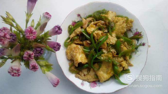 尖椒炒鸡蛋的做法,详细始末