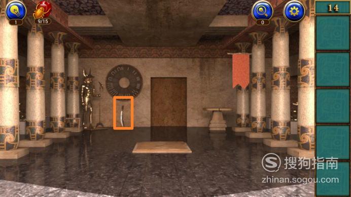 密室逃脱11逃出神秘金字塔第十四关攻略,需要技巧