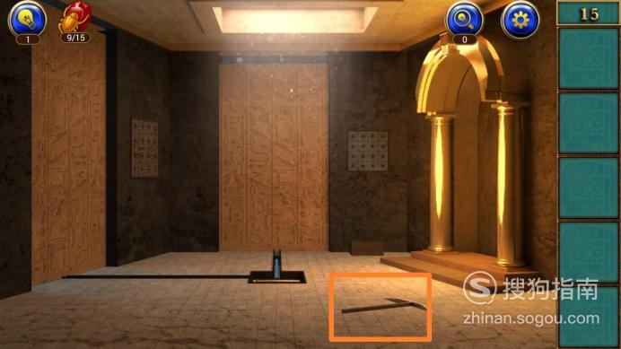 密室逃脱11逃出神秘金字塔第十五关攻略,懂得这些技巧就够了