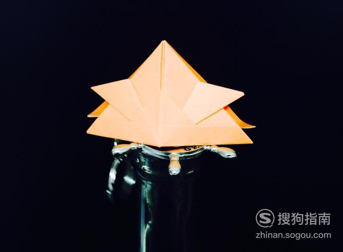【折纸图解】怎么折头